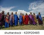masai mara   october 02  ...   Shutterstock . vector #420920485