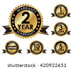 1  2  3  5  10 years and... | Shutterstock .eps vector #420922651