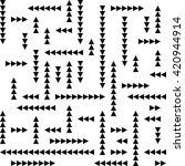 seamless triangle pattern.... | Shutterstock .eps vector #420944914