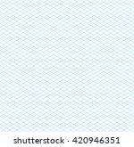 empty seamless isometric grid... | Shutterstock . vector #420946351
