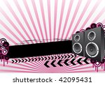 party background design with... | Shutterstock .eps vector #42095431