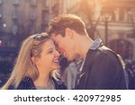 young and good looking urban... | Shutterstock . vector #420972985