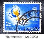 south africa   circa 1963  a... | Shutterstock . vector #42101008