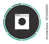 wash simple flat white vector... | Shutterstock .eps vector #421026004
