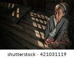 Portrait Of Senior Woman At Th...