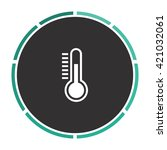 temperature meter simple flat...