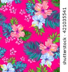 Seamless Vector Tropical Desig...