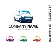 car repair or delivery service... | Shutterstock .eps vector #421052119