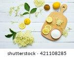 Elder Flower Drink Ingredients...