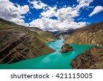 Turquoise Yamdrok Lake In Tibe...
