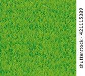 summer green grass texture.... | Shutterstock .eps vector #421115389