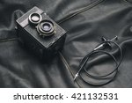 Vintage Camera And Cable...