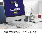 interface ui computer cursor...