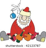 drank santa | Shutterstock .eps vector #42123787