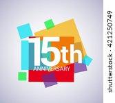 15th Years Anniversary Logo ...