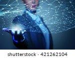 social interaction concept   Shutterstock . vector #421262104