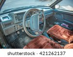 Interior Of An Old Car