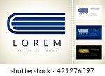 book logo   Shutterstock .eps vector #421276597