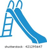 slide playground icon | Shutterstock .eps vector #421295647