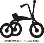 tricycle icon | Shutterstock .eps vector #421295851