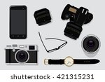 professional photography...   Shutterstock .eps vector #421315231