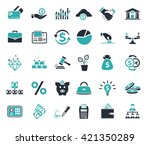 investment  banking  money and... | Shutterstock .eps vector #421350289