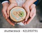 wedding rings   Shutterstock . vector #421353751