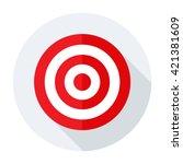 target icon flat. target icon...