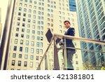 way to success. east indian... | Shutterstock . vector #421381801