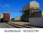 kern county  ca    may 15  2016 ... | Shutterstock . vector #421421734