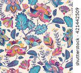 Vintage Flowers Seamless...