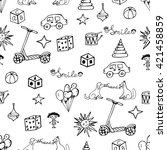 vector child hand drawn pattern....