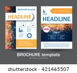 brochure  booklet   flyer... | Shutterstock .eps vector #421465507