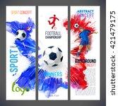 euro 2016 france football... | Shutterstock .eps vector #421479175
