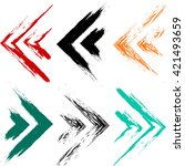 cute vector geometric seamless...   Shutterstock .eps vector #421493659