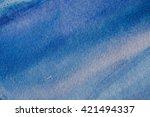 blue abstract grunge texture... | Shutterstock . vector #421494337