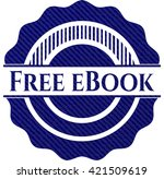 free ebook with denim texture