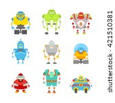 abstract detailed characters... | Shutterstock .eps vector #421510381