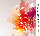 vector illustration of a... | Shutterstock .eps vector #421520314