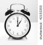 vintage clock | Shutterstock . vector #42152353