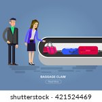 vector detailed characters... | Shutterstock .eps vector #421524469