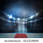 stage lighting background | Shutterstock . vector #421529809