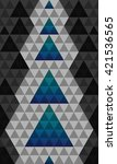 abstract triangles horizontal...