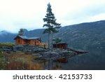 Traditional Norwegian Wooden...