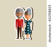 family member design  | Shutterstock .eps vector #421558825