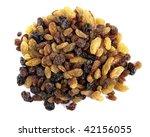 Mixed Raisins - stock photo