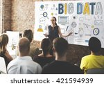 big data information storage... | Shutterstock . vector #421594939