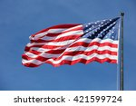 Majestic united states flag