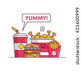 Fast Food  Chicken  Soda ...