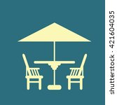 chair icon | Shutterstock .eps vector #421604035